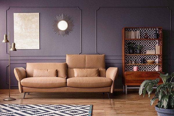 mẫu sofa da cao cấp hiện đại