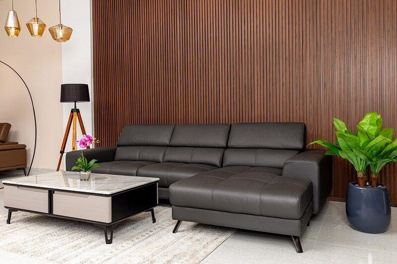 sofa bọc da giá rẻ